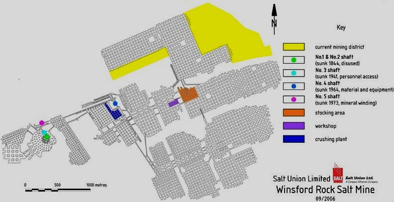 Salt mine map - Winsford History Society